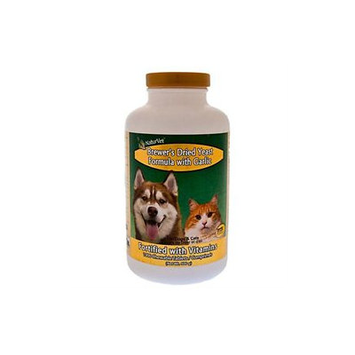 NaturVet Brewers Dried Yeast Formula with Garlic - 500 ct