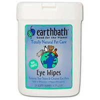 Earthbath All Natural Specialty Eye Wipes 25 Wipes