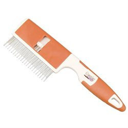 Millers Forge Inc Millers Forge Adjustable 2 In 1 Pet Comb