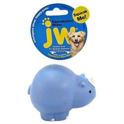 Jw Pet Company Inc JW Pet Vinyl Rhino Dog Toy Medium