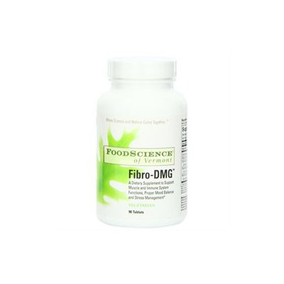 Food Science Labs 1029602 FoodScience of Vermont Fibro-DMG - 90 Coated Tablets