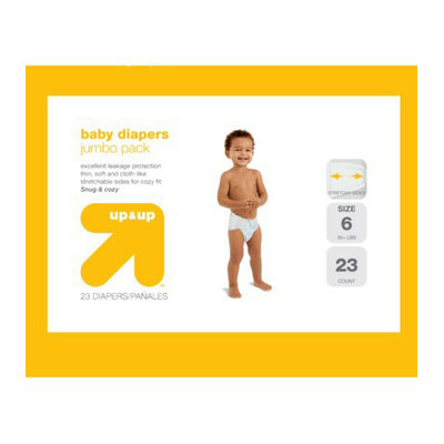 up & up Baby Diapers Jumbo Pack - Size 6 (23 Count)