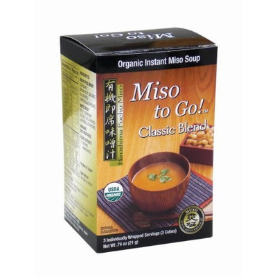 Japan Gold Miso to Go! - Classic Blend, 0.74-Ounce (Pack of 3)