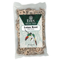 Eden Lotus Root Dried, Sliced, 4-Ounce Packages (Pack of 2)