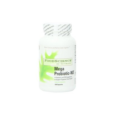 Frontier FoodScience of Vermont - Mega Probiotic ND - 120 Capsules