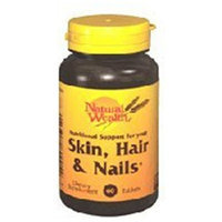 Natural Wealth SKIN/HAIR/NAILS TABS NAT/WL Size: 60