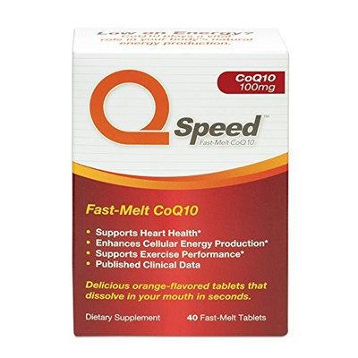 QSpeed CoQ10 Fast-Melt Tablets 100mg 40 tablets