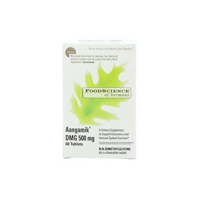 Frontier FoodScience of Vermont Aangamik DMG 500 mg Chewable Tablets