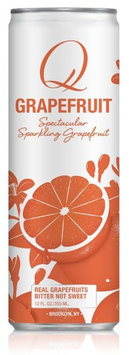 Q Drinks SPRKLNG WTR,Q GRPFRT, CAN, (Pack of 6)