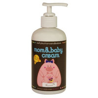 Belly Buttons and Babies Mom and Baby Cream, 8 Ounce