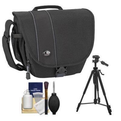 Tamrac 3444 Rally 4 Digital SLR Camera Case (Black) with Tripod + Accessory Kit