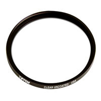 Tiffen 77mm Clear Uncoated Filter for Lens