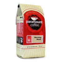 Paramount Coffee Morning Music, Ground, 12-Ounce (Pack of 2)
