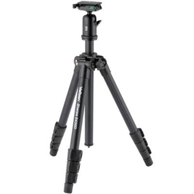 Velbon SHERPA 6430D 4-Sec Tripod with QHD-63D Ball Socket Head