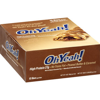 OhYeah! Peanut Butter & Caramel Bars