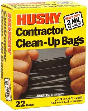 Poly America 42 gal 2M Contractor Bag Black POLY-AMERICA INC Trash & Yard Bags HK42WC022B