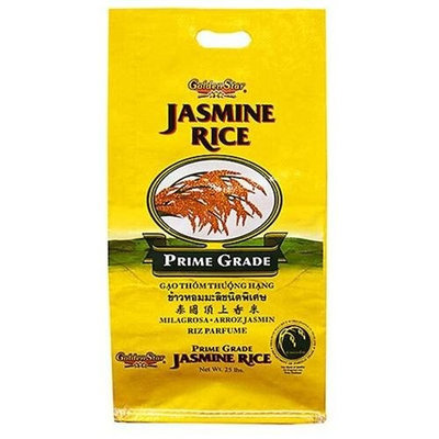 Golden Star Jasmine Rice - 25lbs
