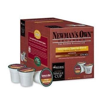 mans Own Organics Special Blend Extra Bold Medium Roast 18 Count for Keurig