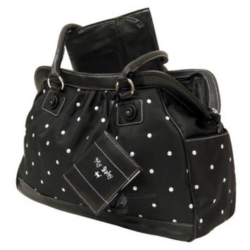 Baby Essentials EmbroideRed Large Satchel Diaper Bag with Brag Book -