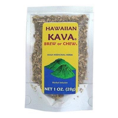 Zero Gravity Hawaii Hawaiian Kava Brew or Chew Piper Methysticum Root From Hawaii