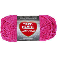 Coats & Clark Inc. Reflective Yarn-Neon Pink