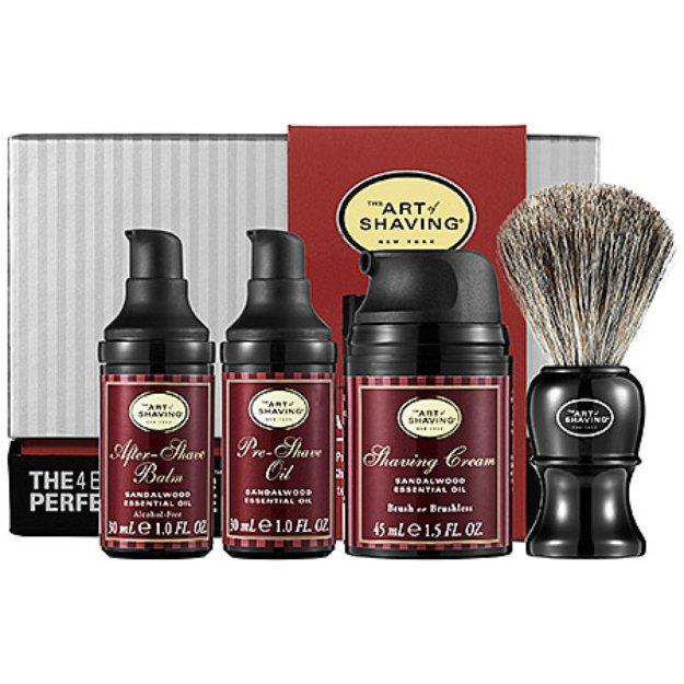 Art of Shaving The  Mid-Size Kit - Sandalwood
