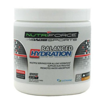 Nutriforce Sports Balanced Hydration Orange - 35 Servings
