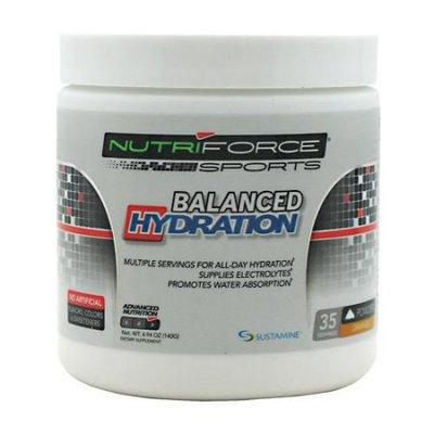 Nutriforce Sports Balanced Hydration Orange - 35 Servings