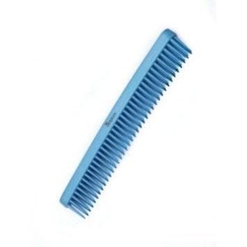 Denman 3 Row Comb Metallic Blue