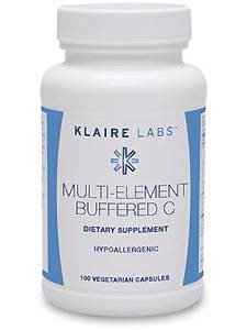 Klaire Labs, Multi-Element Buffered C 100 caps