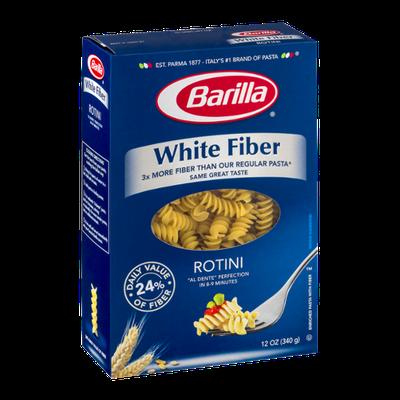 Barilla Pasta White Fiber Rotini