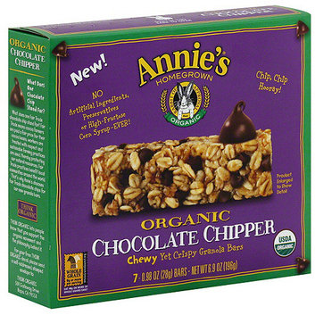 Annie's Homegrown Chocolate Chipper Chewy Yet Crispy Granola Bars