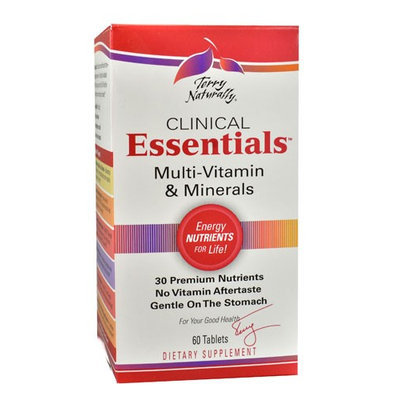 Terry Naturally Clinical Essentials Multi-Vitamin & Minerals 60 Tablets
