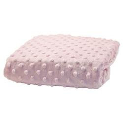 Rumble Tuff Changing Pad Cover Standard Minky Dot - Pink