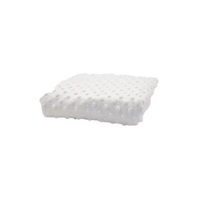 Rumble Tuff Changing Pad Cover Standard Minky Dot - White