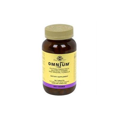 Solgar Omnium - 180 Tablets