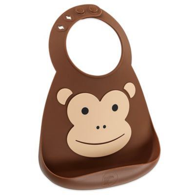 Cheeky Rascals Make My Day Baby Bib Monkey