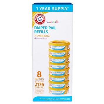 Munchkin Arm & Hammer Diaper Pail Refill Rings - 2,176 Count