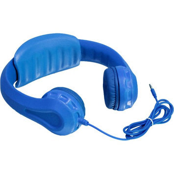 Aluratek, Inc. Aluratek Volume Limiting Wired Foam Headphones For Children (Blue) - Stereo - Blue - Mini-phone - Wired - Over-the-head - Binaural - Circumaural