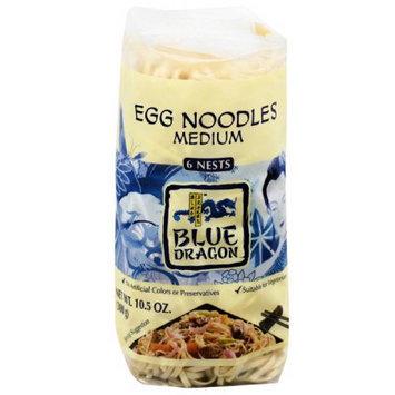 Blue Dragon Medium Egg Noodles, 10.5 oz, (Pack of 8)