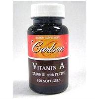 Carlson Laboratories Emulsified Vitamin A 25,000 IU - 100 Softgels - Vitamin A