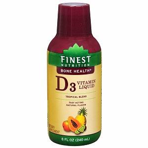 Finest Nutrition Tropical Blend Liquid Vitamin D3