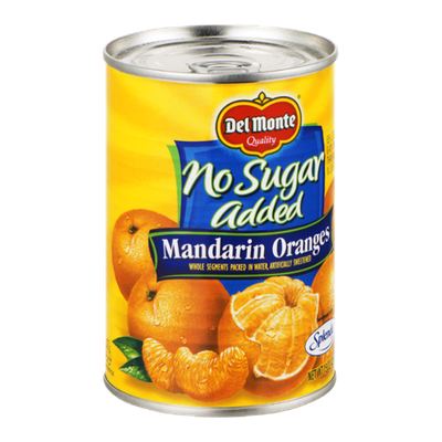 Del Monte No Sugar Added Mandarin Oranges