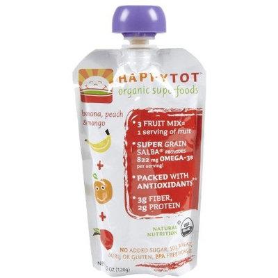 Happybaby Happy Family happy tot Purees - Banana Mango & Peach - 4.22 oz - 8 pk
