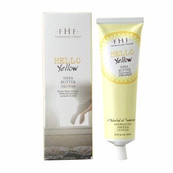 FarmHouse Fresh Shea Butter Hand Cream, Hello Yellow, 2.5 fl oz