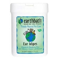 Earthbath All Natural Specialty Ear Wipes 25 Wipes