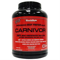 MuscleMeds - Carnivor Bioengineered Beef Protein Isolate Chocolate - 4.6 lbs.