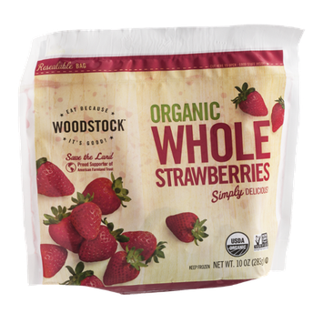 Woodstock Organic Whole Strawberries