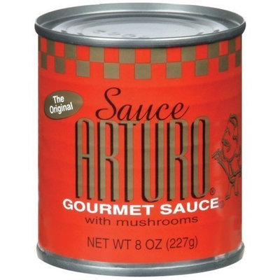 Arturo Chiang Arturo Original Gourmet Sauce with Mushrooms, 8-Ounce Cans (Pack of 24)