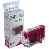 LD Compatible Replacement for Canon CLI8M Ink Cartridge Includes: 1 Magenta 0622B002